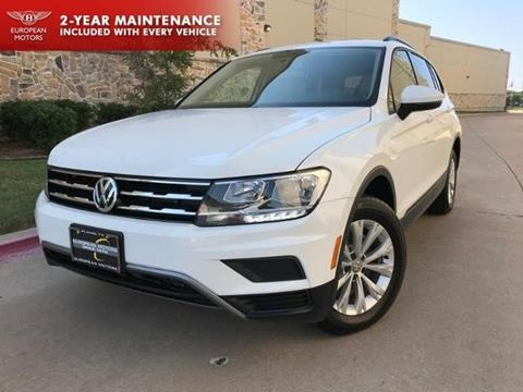 2018 Volkswagen Tiguan for sale in Plano, TX