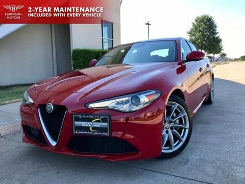 2017 Alfa Romeo Giulia for sale in Plano, TX