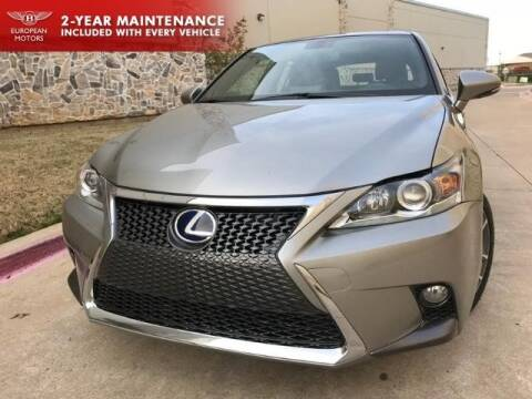 2017 Lexus CT 200h for sale in Plano, TX