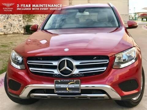 2017 Mercedes-Benz GLC GLC 300 for sale at European Motors Inc in Plano TX