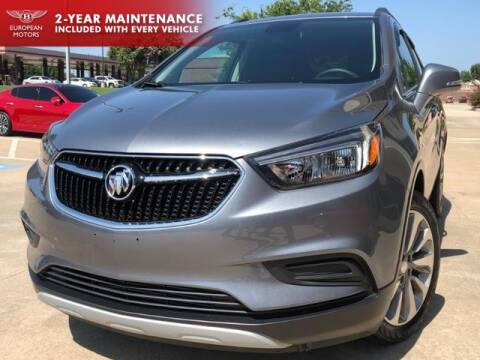 2019 Buick Encore for sale at European Motors Inc in Plano TX