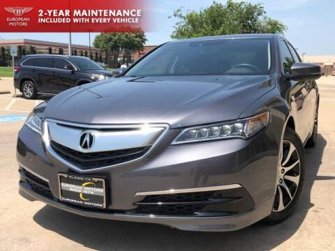 2017 Acura TLX for sale at European Motors Inc in Plano TX