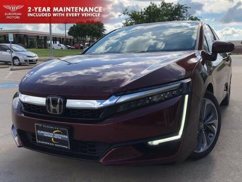 2018 Honda Clarity Plug-In Hybrid for sale at European Motors Inc in Plano TX