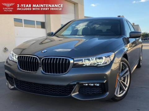 2017 BMW 7 Series for sale at European Motors Inc in Plano TX