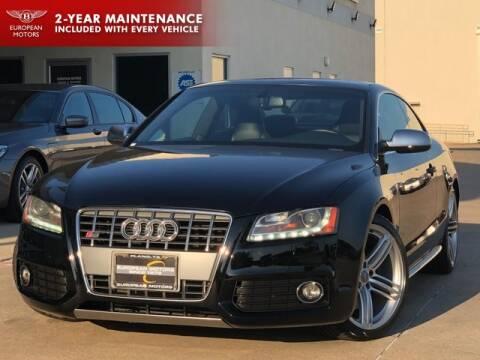 2011 Audi S5 for sale at European Motors Inc in Plano TX