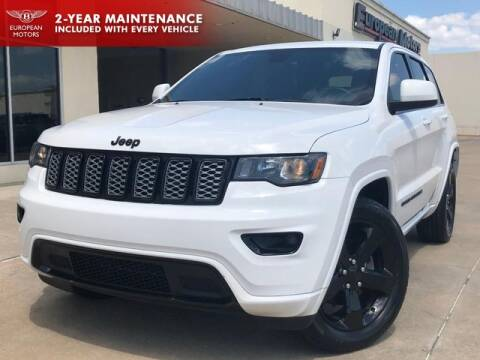 2017 Jeep Grand Cherokee for sale at European Motors Inc in Plano TX