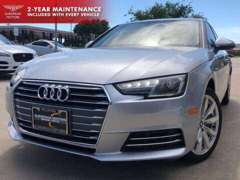 2017 Audi A4 for sale at European Motors Inc in Plano TX