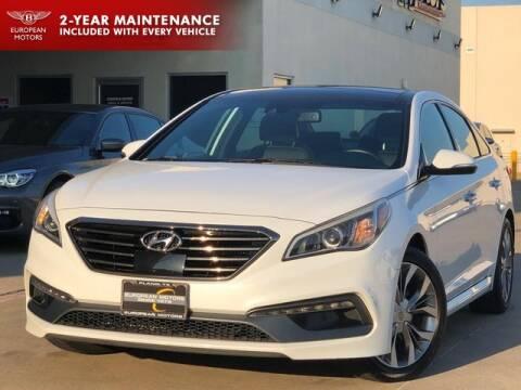 2015 Hyundai Sonata for sale at European Motors Inc in Plano TX
