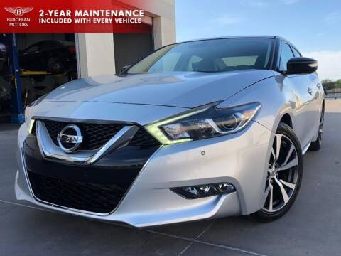 2017 Nissan Maxima for sale at European Motors Inc in Plano TX