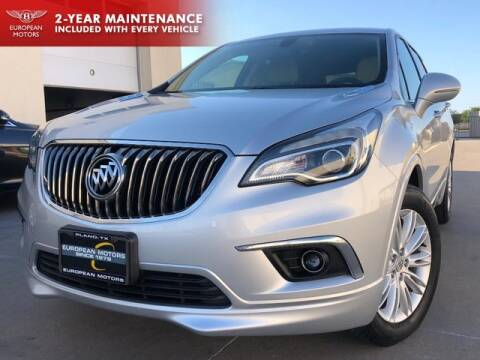 2018 Buick Envision for sale at European Motors Inc in Plano TX
