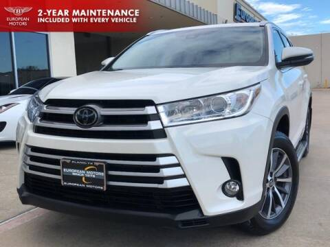2017 Toyota Highlander for sale at European Motors Inc in Plano TX