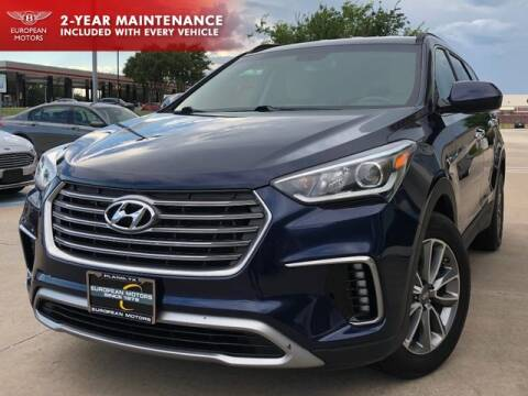 2017 Hyundai Santa Fe for sale at European Motors Inc in Plano TX
