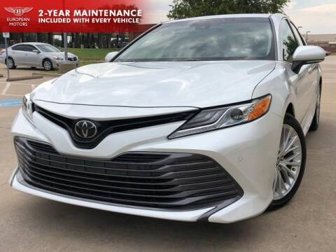 2018 Toyota Camry for sale at European Motors Inc in Plano TX