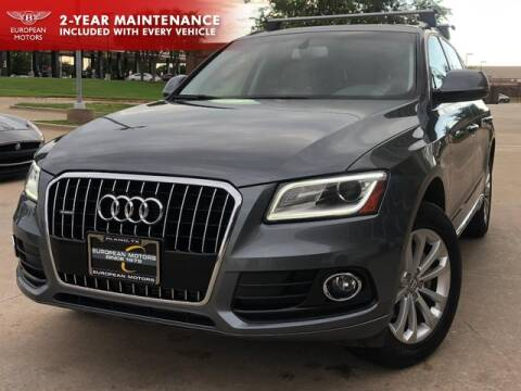 2017 Audi Q5 for sale at European Motors Inc in Plano TX