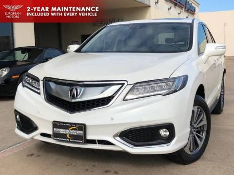 2017 Acura RDX for sale at European Motors Inc in Plano TX