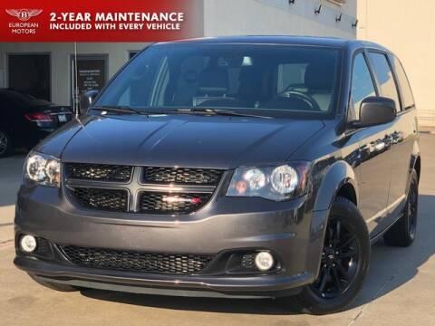 2019 Dodge Grand Caravan for sale at European Motors Inc in Plano TX
