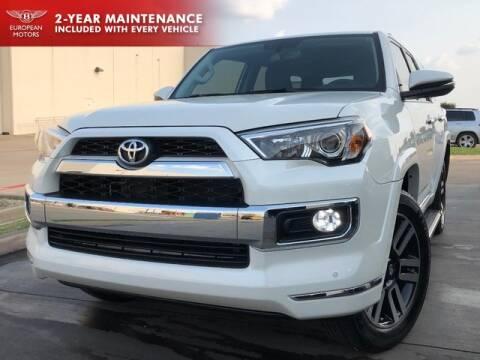2019 Toyota 4Runner for sale at European Motors Inc in Plano TX