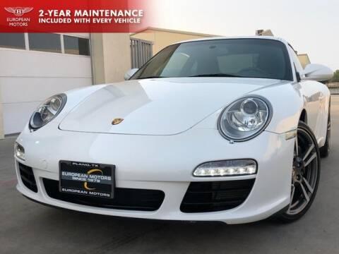 2011 Porsche 911 for sale at European Motors Inc in Plano TX