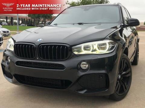 2015 BMW X5 for sale at European Motors Inc in Plano TX