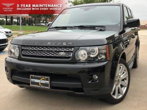 2013 Land Rover Range Rover Sport for sale at European Motors Inc in Plano TX