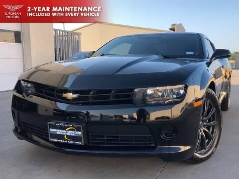 2014 Chevrolet Camaro for sale at European Motors Inc in Plano TX