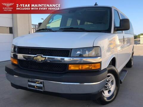 2020 Chevrolet Express Passenger for sale at European Motors Inc in Plano TX