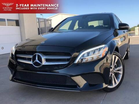 2019 Mercedes-Benz C-Class for sale at European Motors Inc in Plano TX