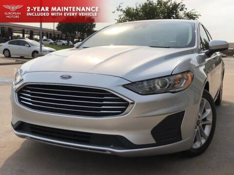 2019 Ford Fusion Hybrid for sale at European Motors Inc in Plano TX