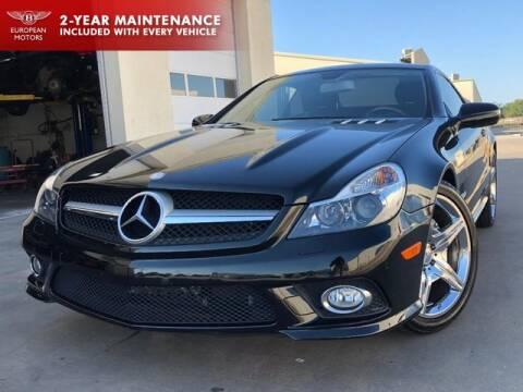 2011 Mercedes-Benz SL-Class for sale at European Motors Inc in Plano TX
