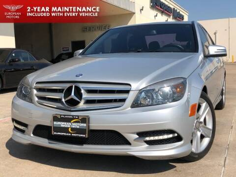 2011 Mercedes-Benz C-Class for sale at European Motors Inc in Plano TX