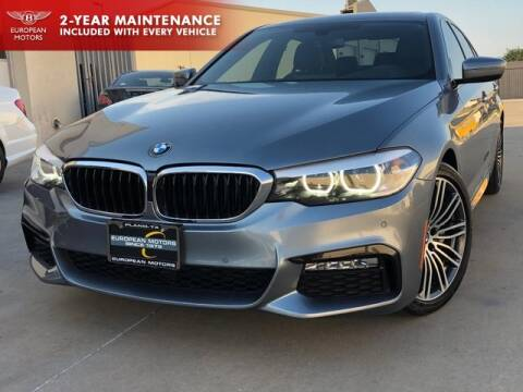 2017 BMW 5 Series for sale at European Motors Inc in Plano TX