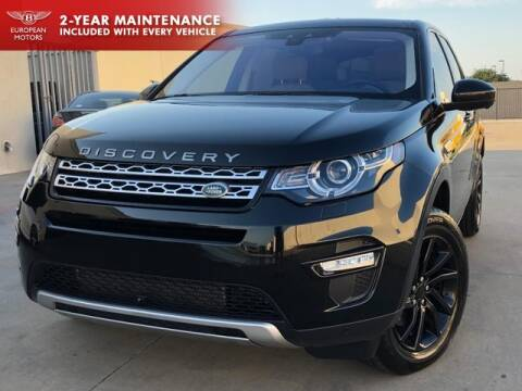 2017 Land Rover Discovery Sport for sale at European Motors Inc in Plano TX