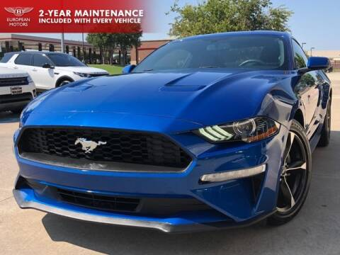 2018 Ford Mustang for sale at European Motors Inc in Plano TX