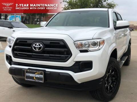 2017 Toyota Tacoma for sale at European Motors Inc in Plano TX