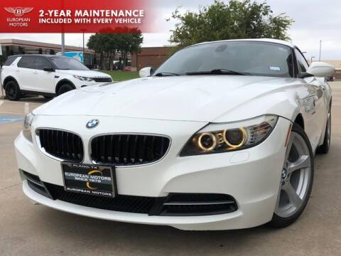 2011 BMW Z4 for sale at European Motors Inc in Plano TX