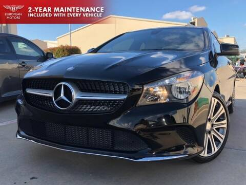 2018 Mercedes-Benz CLA for sale at European Motors Inc in Plano TX