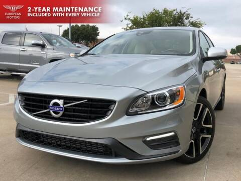 2018 Volvo S60 for sale at European Motors Inc in Plano TX
