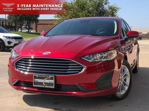 2020 Ford Fusion for sale at European Motors Inc in Plano TX