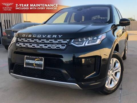 2020 Land Rover Discovery Sport for sale at European Motors Inc in Plano TX