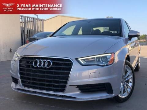 2015 Audi A3 for sale at European Motors Inc in Plano TX