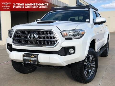 2016 Toyota Tacoma for sale at European Motors Inc in Plano TX