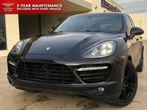 2014 Porsche Cayenne for sale at European Motors Inc in Plano TX