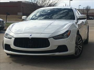 2015 Maserati Ghibli for sale in Plano, TX