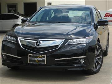 2015 Acura TLX for sale in Plano, TX