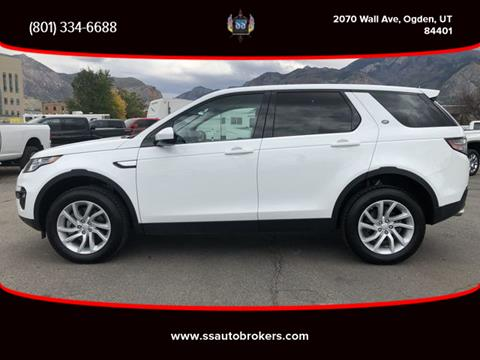 2018 Land Rover Discovery Sport for sale in Ogden, UT