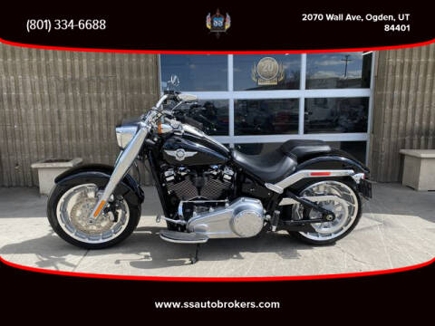 2018 Harley-Davidson FLFB Fat Boy 107 for sale at S S Auto Brokers in Ogden UT