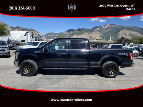 2017 Ford F-150 for sale at S S Auto Brokers in Ogden UT