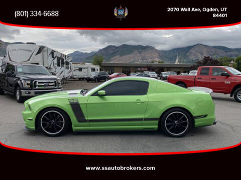 2013 Ford Mustang for sale at S S Auto Brokers in Ogden UT