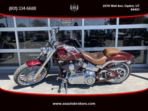 2013 Harley-Davidson FXSBSE CVO Breakout for sale at S S Auto Brokers in Ogden UT
