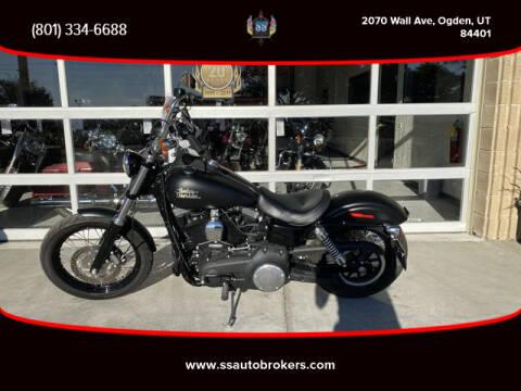2017 Harley-Davidson FXDB Dyna Street Bob for sale at S S Auto Brokers in Ogden UT